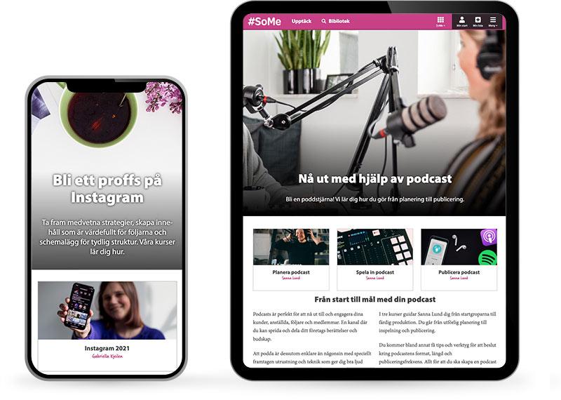 Moderskeppet på iPad och iPhone